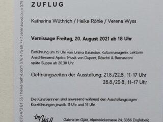 Ausstellung ZUFLUG