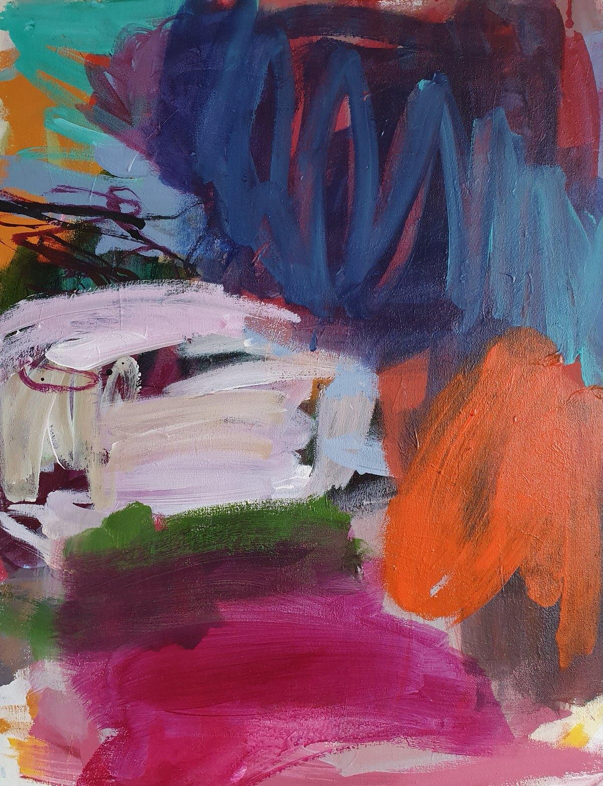 Acryl Mixmedia on Canvas (60x67cm)