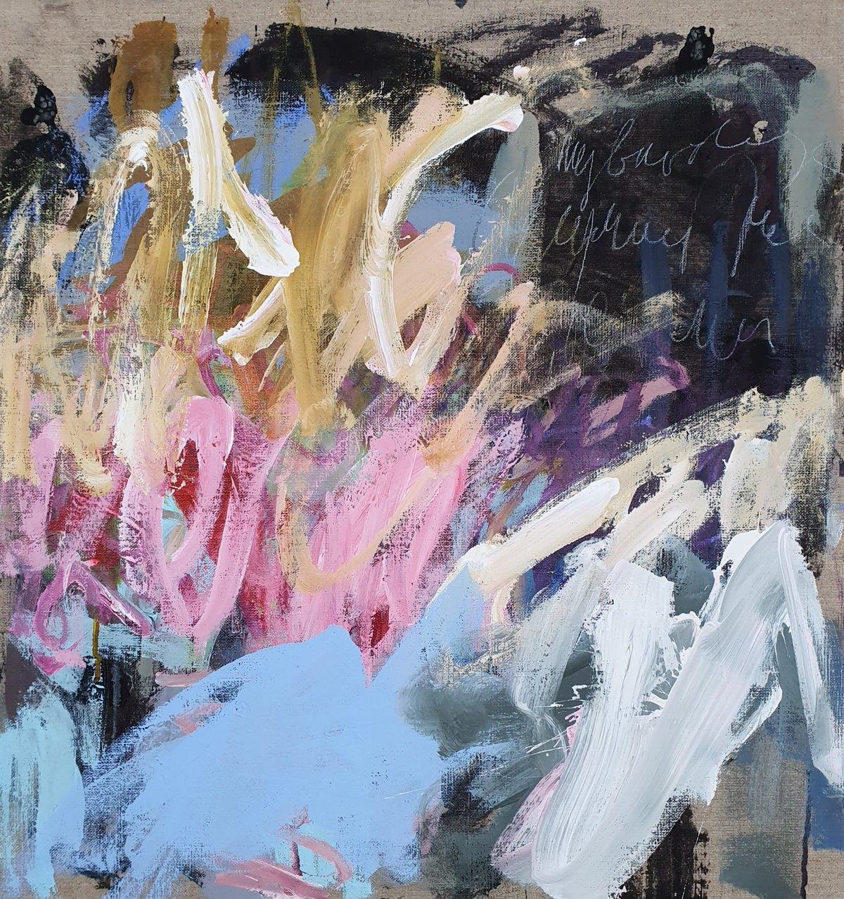 Acryl Mixmedia on Canvas (55x62cm)