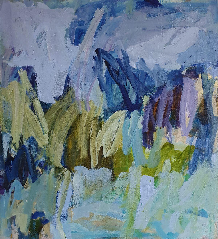 Acrylmixmedia on canvas 86x79cm